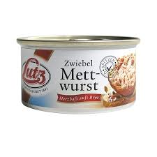 Zwiebel-Mettwurst, 125g