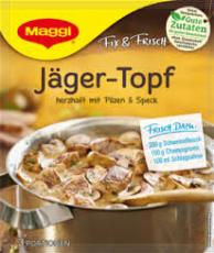 Maggi Fix Jägertopf