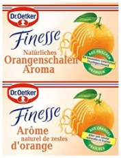 Dr. Oetker Finesse Orange, 2 uds