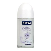 Nivea sensitive & pure 48h, parfümfrei, 50ml