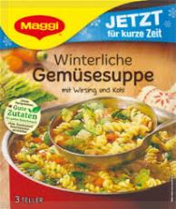 Maggi Winterliche Gemüsesuppe