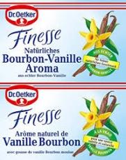 Dr. Oetker Finesse Natürliches Bourbon-Vanille Aroma, 2 uds