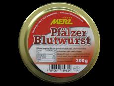 Original Pfälzer Blutwurst, 200g