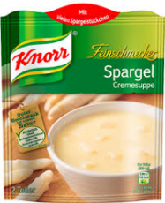 Knorr Feinschmecker Spargel Cremesuppe