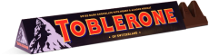 Toblerone dark chocolate with honey and almond nougat, 100g