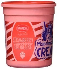 Marshmallow Cream Strawberry, 180g
