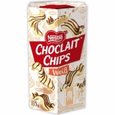 Choclait Chips white, 115g