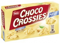 Choco Crossies White, 150g