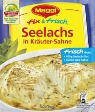 Maggi Fix - Seelachs in Kräuter-Sahne