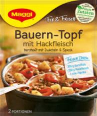 Maggi Fix - Bauerntopf mit Hackfleisch