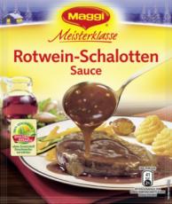 Maggi Rotwein-Schalotten Sauce