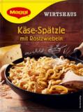 Maggi Käse-Spätzle mit Röstzwiebeln