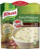 Knorr Kartoffelsuppe mit Créme fraîche