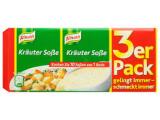 3 x Knorr Kräuter Soße 3uds., FDC 08/2018