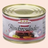 2 Rindsrouladen, 400g, canned