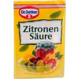 Dr. Oetker Zitronensäure