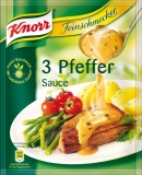 Knorr Feinschmecker 3-Pfeffer-Sauce