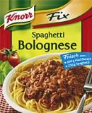 Knorr fix für Spaghetti Bolognese