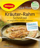 Maggi Fix - Kräuter-Rahm Schnitzel