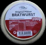 Original Pfälzer Bratwurst, 200g