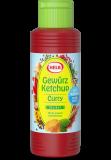 Hela Gewürzketchup Curry delikat con 30% menos azúcar, 300ml