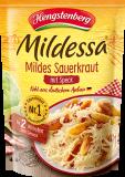 Mildessa Mildes Sauerkraut mit Speck, 400g