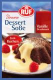 RUF Dessert-Soße Vanille, zum Kochen, 3 Beutel