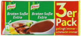 Knorr Braten Soße extra 3-pack