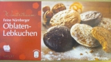 Feine Nürnberger Oblaten-Lebkuchen, 600g