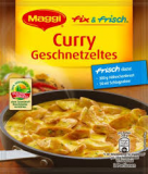 Maggi Fix - Curry Geschnetzeltes