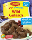 Maggi fix Wildgulasch, FDC 10/2018