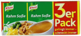 Knorr Rahm-Soße, 3 uds.